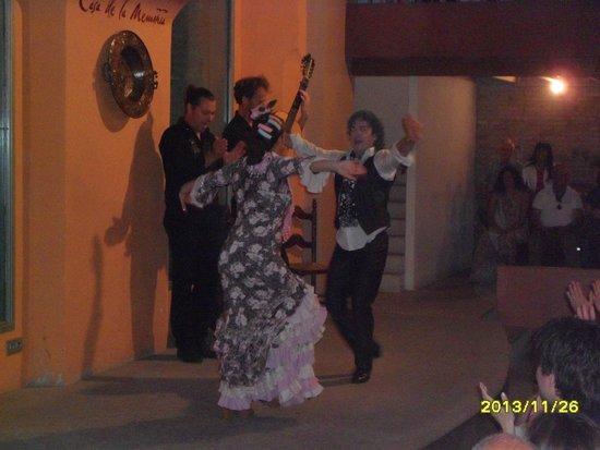 Casa de la Memoria: Flamenco tradizionale molto coinvolgente