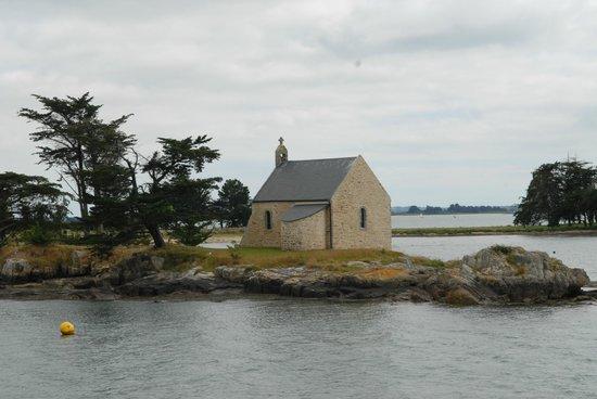 Compagnie du Golfe : Chapelle de Boedic, Golfe du Morbihan