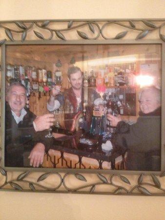 Blenheim Hotel: Danny dyer at the Blenheim