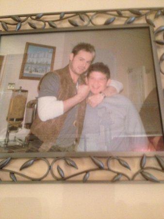 Blenheim Hotel: Danny Dyer at the Blenheim with our Billy