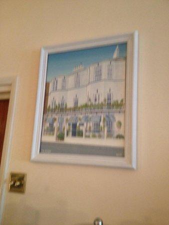 Blenheim Hotel: Artist painting of the Blenheim