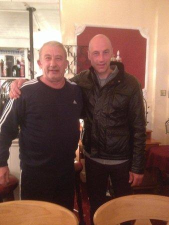 Blenheim Hotel: World record breaker Graeme Obree Enjoying his stay at the Blenheim 2014