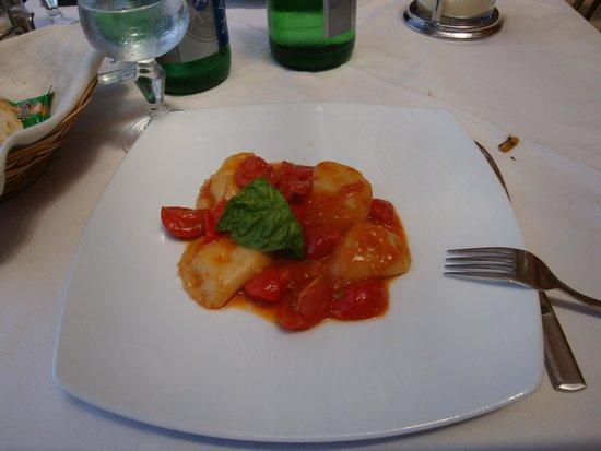 Blue Grotto Tours: Delicious homemade ravioli