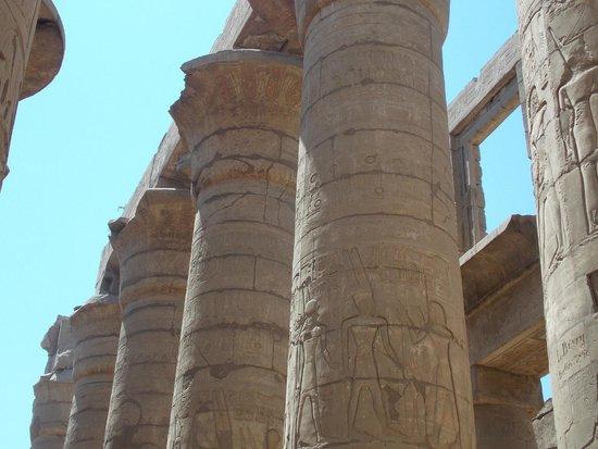 Egypt Tours Portal Day Trips: колонны.