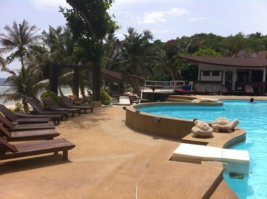 Cocohut Village Beach Resort & Spa : poolside