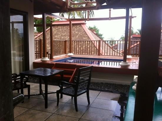 The Briza Beach Resort Samui : plunge pool