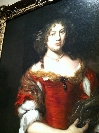 The Ringling: Random oil painting that I appreciated in the museum for all the details.  magnify to see better
