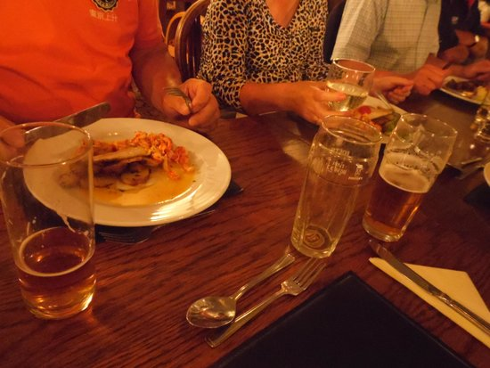 The Brook Inn: Will not go home hungry !