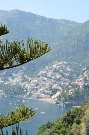 Il San Pietro di Positano: vue de la terrasse de notre chambre
