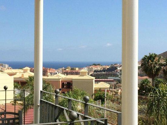Gran Oasis Resort: View from top terrace.