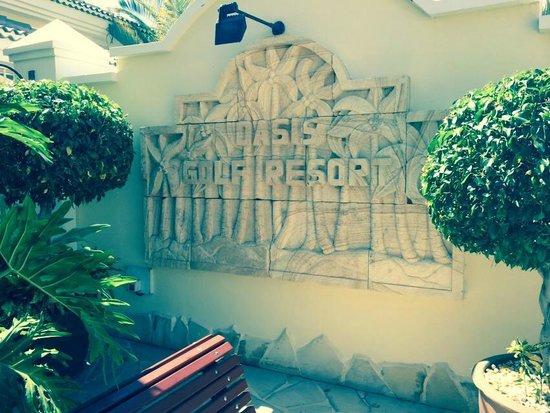 Gran Oasis Resort: Entrance.