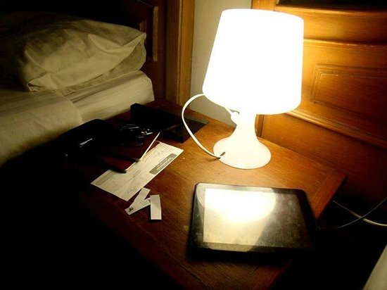 The XP Bangkok Hotel: Night stand