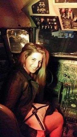 Ristoaereo: In cabina di pilotaggio!