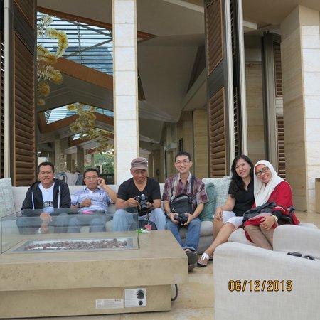 Mulia Resort: beranda terbuka