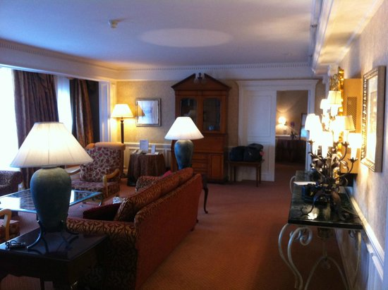 Disneyland Hotel : Suite cendrillon salon