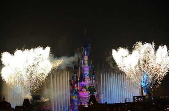 Disneyland Hotel : vue Dreams depuis suite Cendrillon