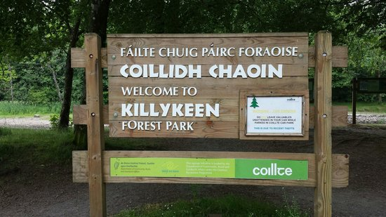 County Cavan, Irlanda: Killykeen Forest Park