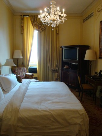 The St. Regis Rome: Tried to get the whole room