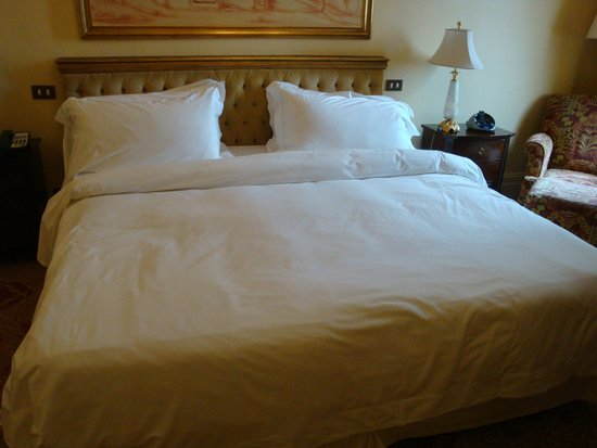 The St. Regis Rome : Very comfortable bed
