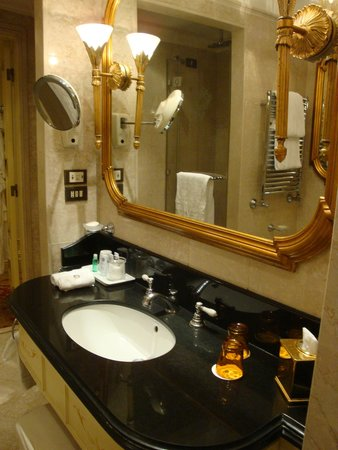 The St. Regis Rome : Sink area in bathroom