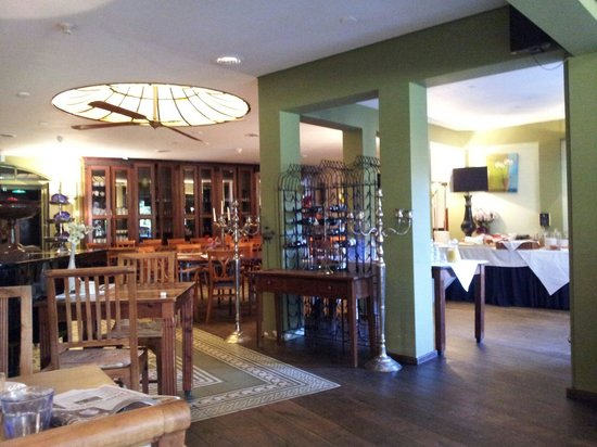 Slothotel Igesz: Breakfast area