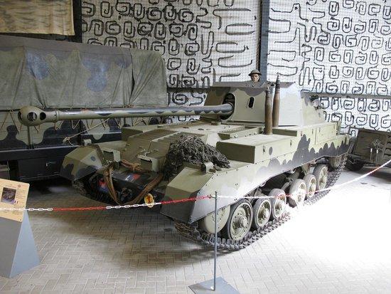 Overloon War Museum: Un rare chasseur de char Anglais