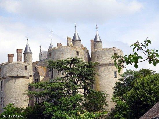 Chateau de Montreuil-Bellay : il  fut construit sur un éperon rocheux à l'emplacement d'un village Gallo-Romain!