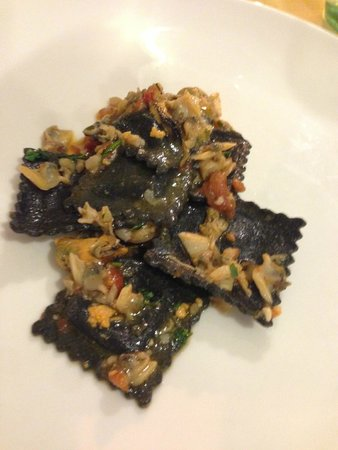 Ristorante Il Gambero Nero : Raviolli with lobster