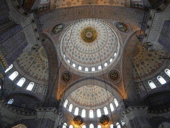Yeni Cami: Своды
