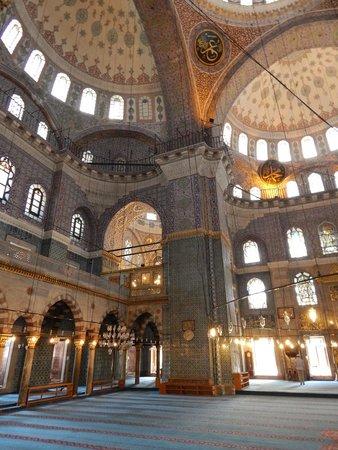 New Mosque: Внутри