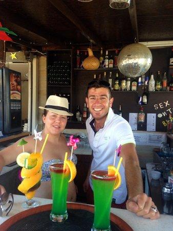 Bitez Han beach bar and resteraunt: Lynsey special