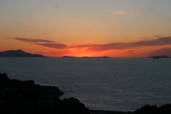 Best Western Hotel La Solara: Sunset from our room