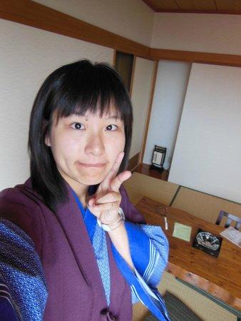 Izu Okawa Onsen Hotel: 可愛的浴衣^^