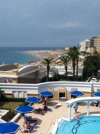 Mitsis Grand Hotel: utsikt fra terrassen