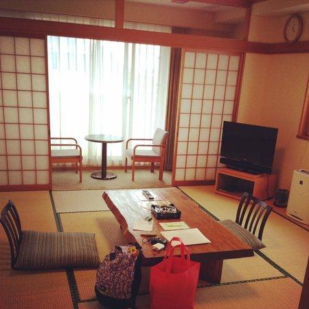 Izu Okawa Onsen Hotel: 很美吧!