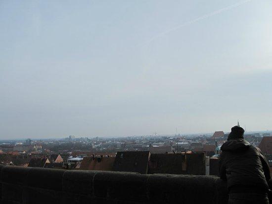 Kaiserburg Nürnberg: Lo splendido panorama dal castello