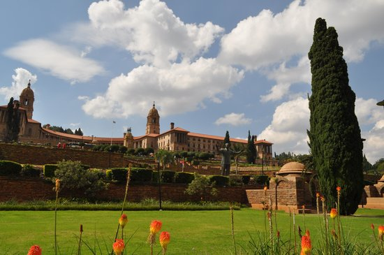 Union Buildings Pretoria. Apr. 2014