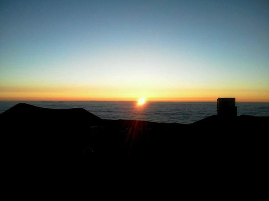 Mauna Kea Summit: サンセット