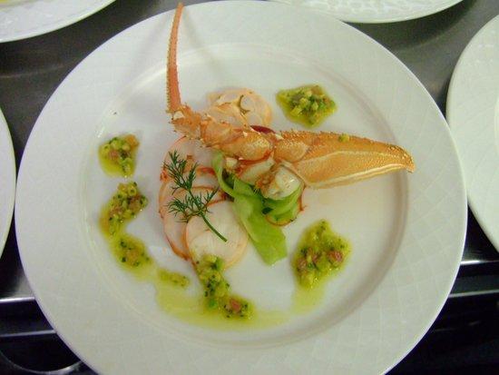 Le Bistro: lobster