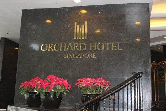 Orchard Hotel Singapore : hotel