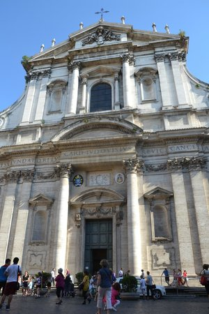 Chiesa di Sant'Ignazio di Loyola: Outside view