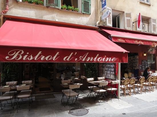 Le Bistrot d'Antoine: beautiful food