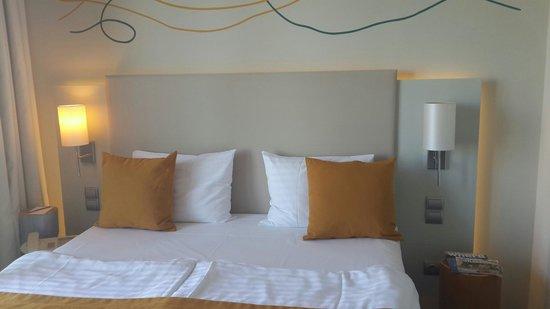 art'otel budapest: Bed