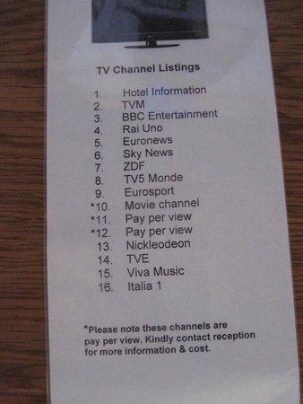 Hotel Santana: TV Guide