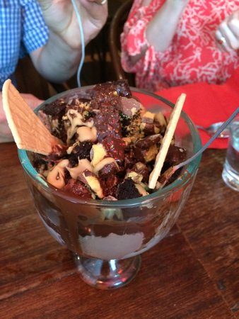 Red Squirrel: The Kitchen Sink - a great dessert to share