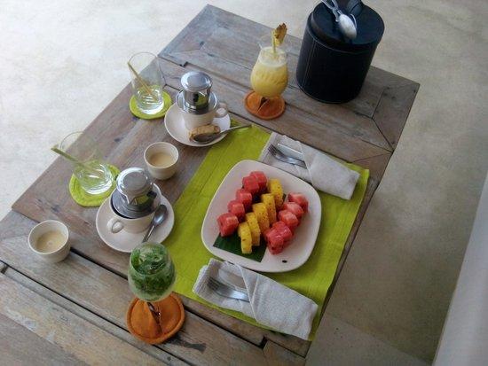 Six Senses Con Dao: Erfrischender Früchtemix