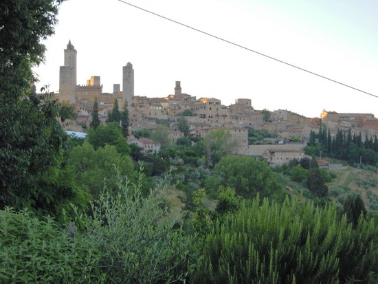 Il Colto: vista di San Gimignano dal Colto