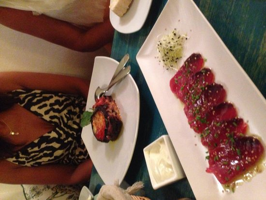 A Casa Mia : Some tuna starter