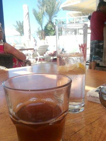 Eken Resort Hotel: içecekler cam bardakta