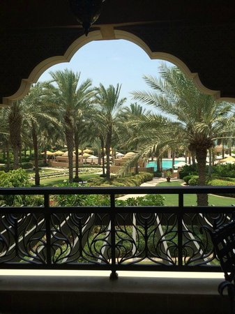 Residence & Spa at One&Only Royal Mirage Dubai: view from balcony